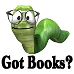 Got books? Reading T-shirts and gifts.