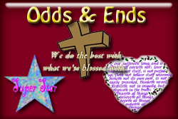 Odds and Ends T-shirts and gifts.