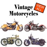 Vintage and Classic Motorcycles including Indian, Triumph, Honda, Harley on T-shirts, Tshirt and Gifts.