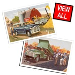 Vintage Trucks T-shirts & Gift