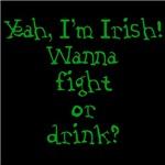 Yeah, I'm Irish