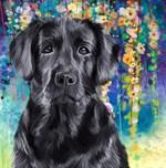 Labrador Painting