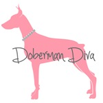 Diamond Collar Doberman Diva