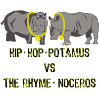 hiphop-potamus vs the rhyme-noceros