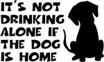 Dog Drinking Humor