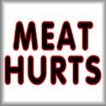 Meat hurts