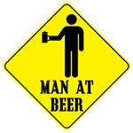 Man at Beer
