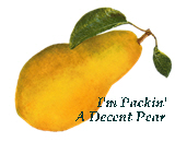 Packin' a Decent Pear