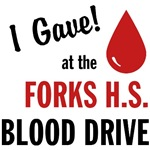 Twilight Forks Blood Drive