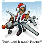 Santa Claus IS Black!