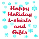 Happy Holidays t-shirts and gifts