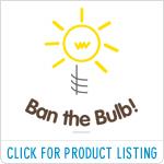 Ban the Bulb T-shirts