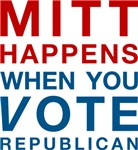 Mitt Happens T-shirts