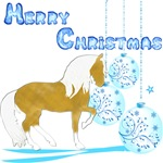 Mery Christmas Gaited Horse
