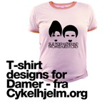 Cykelhjelm.org - Nonprofit t-shirt designs for dam