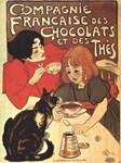 Chocolate, Vintage Poster
