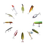Fishing Lure Clock Shop