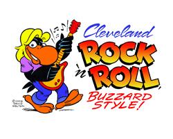Cleveland Rock n' Roll Buzzard Style.