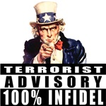 Uncle Sam American Infidel T-shirts & Gifts