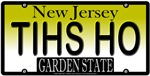 OH SHIT! Reversed New Jersey Vanity License Plate