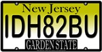 I'd Hate To Be You New Jersey Vanity License Plate