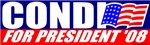 Condoleezza Rice For President T-shirts & Gifts