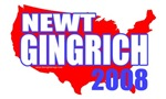 Elect Newt Gingrich 2008 T-shirts & Gifts