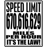 Light Speed Limit T-shirts & Gifts