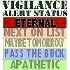 Vigilance Alert Status T-shirts, Gifts & Wear
