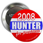 Duncan Hunter For President Buttons & Magnets