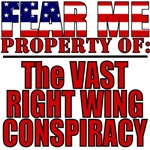 Property of: Vast Right Wing Conspiracy T-Shirts