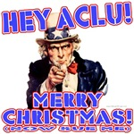 Merry Christmas ACLU T-shirts & Gifts