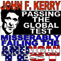 Failing the American Test Anti-John Kerry T-shrts
