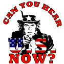 Can You Hear U.S. Now? W Victory T-shirts