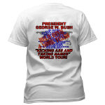 George Bush/Uncle Sam Apparel, T-shirts and Gifts