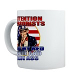 Anti Terrorist Uncle Sam Mugs