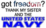 US NAVY (Thank My Sister)