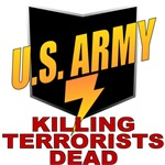 U.S. Army Killing Terrorists Dead
