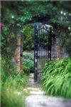 Stone Garden Gate