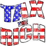 Tax the Rich! w/ American Flag