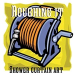 Shower curtain art