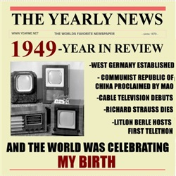 born in 1949 birthday gift