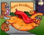 Happy Halloweenie (red)