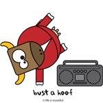 Bust a hoof
