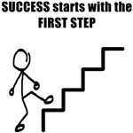Success Starts With the First Step
