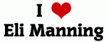 I Love Eli Manning