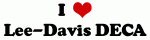 I Love Lee-Davis DECA