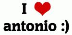 I Love antonio :)