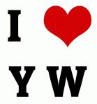 I Love Y W