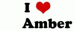 I Love       Amber